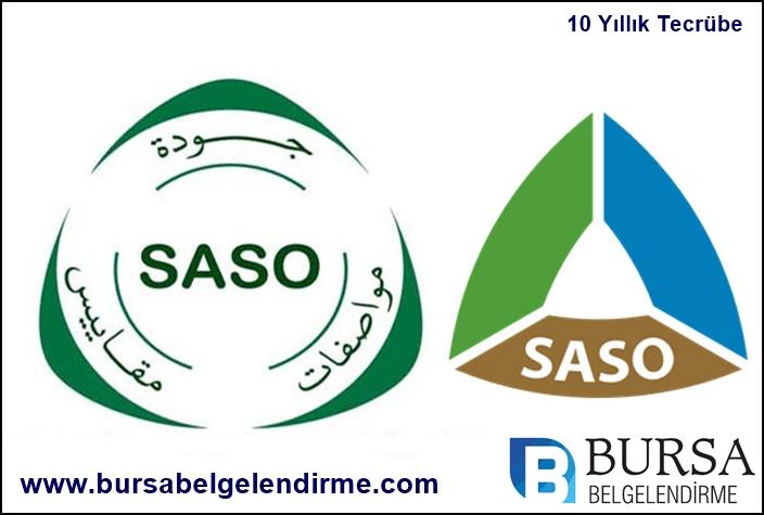 Bursa Saso belgesi Bursa Saso sertifikası
