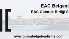 EAC Belgesi Nedir? EAC Belgesi nasıl Alınır?