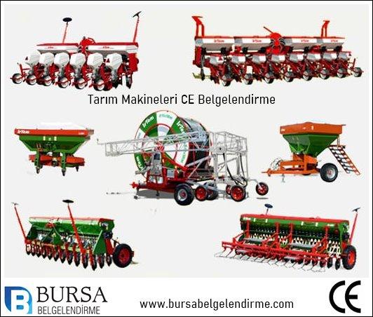 Tarım Makineleri Ce Belgelendirme