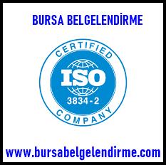en 1090 belgesi - iso 3834 sertifikası