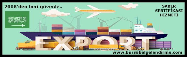 Suudi Arabistan ihracat sertifikası