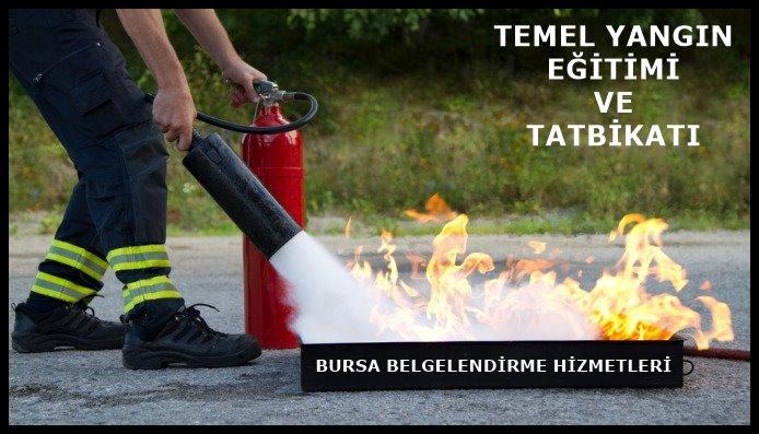 Yangın ve Arama kurtarma Eğitimi